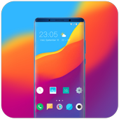 Theme for Elephone A4 Pro Abstract wave wallpaper icon