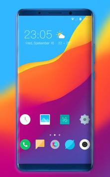 Theme for Elephone A4 Pro Abstract wave wallpaper poster