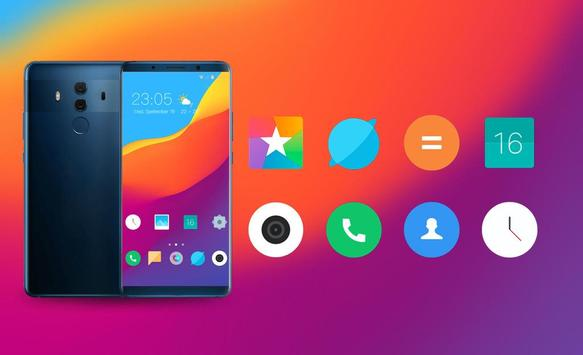 Theme for Elephone A4 Pro Abstract wave wallpaper screenshot 3