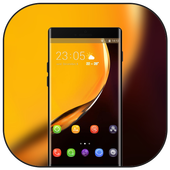 Theme for Elephone A4 Pro yellow smooth wallpaper icon