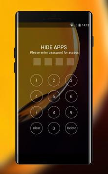 Theme for Elephone A4 Pro yellow smooth wallpaper screenshot 2
