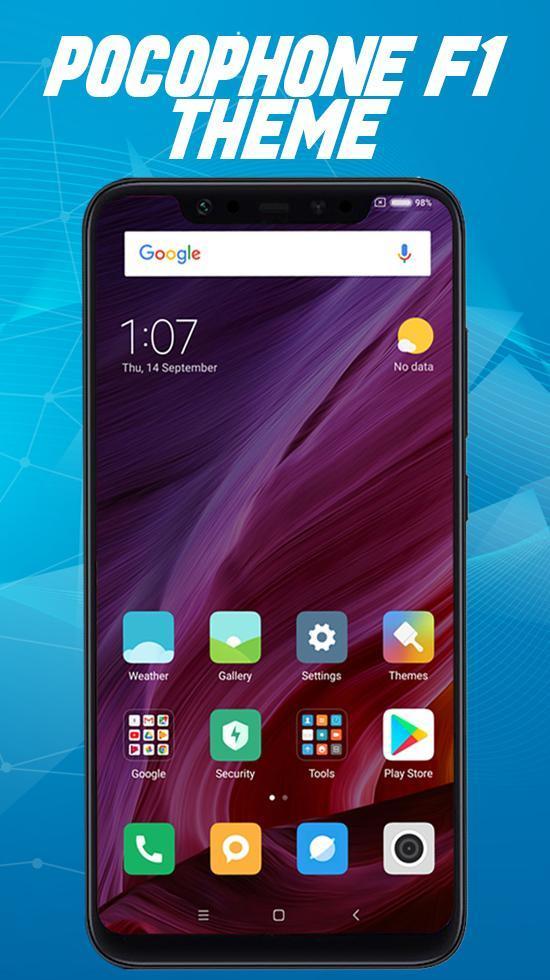 Xiaomi pocophone F1 launcher ,Poco f1 theme for Android - APK Download