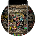 Street Graffiti Skull Theme Free Zombie Wallpaper