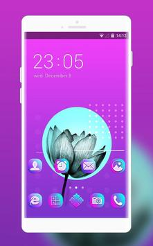Purple lotus flower theme free for android for android apk download purple lotus flower theme free for android poster mightylinksfo