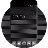 Black and White Stylish Theme for Huawei P10 Lite icon
