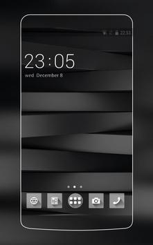 Black and White Stylish Theme for Huawei P10 Lite poster