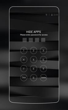 Black and White Stylish Theme for Huawei P10 Lite screenshot 2