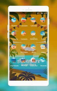 Golden Theme: Dream Adventure Live HD Wallpaper screenshot 1