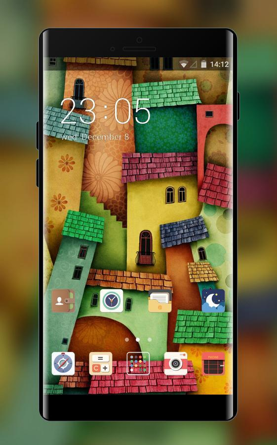 Cartoon City Graffit Theme:Free Android Theme poster