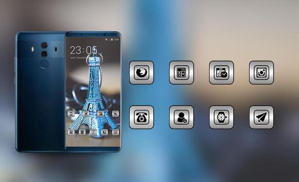 Theme for presents paris tower model wallpaper screenshot 3