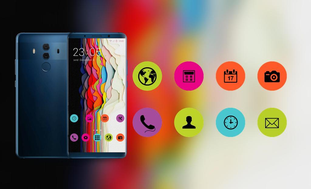 Theme for asus zenfone max pro M1 color wallpaper for