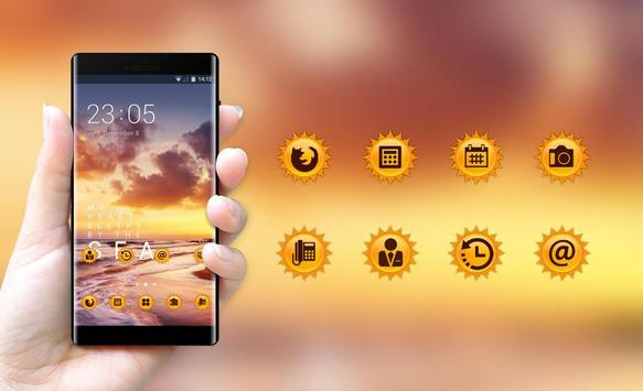 Theme for Micromax: Sunset Live wallpaper apk screenshot