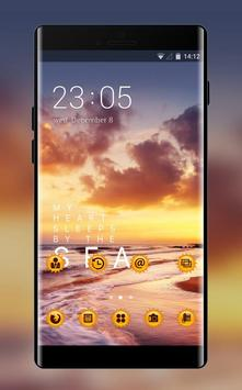 Theme for Micromax: Sunset Live wallpaper poster