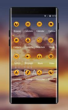 Theme for Micromax: Sunset Live wallpaper screenshot 1
