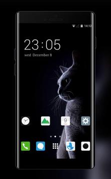Themes for Vivo V7+ HD: Cute Cat Wallpaper HD poster