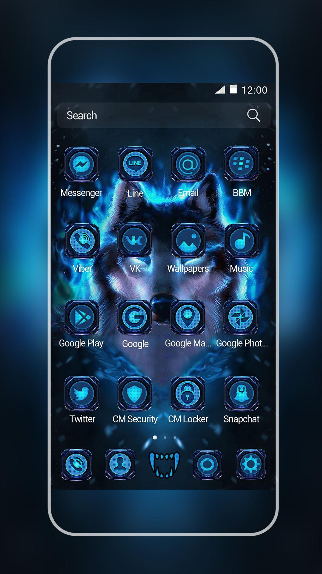 Black Wolf Xiaomi/Meizu Theme for Android - APK Download