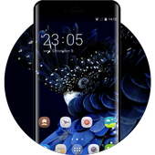 Elegant Blue ColorOS Launcher Theme for OPPO for Android