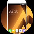 Theme for Galaxy A7 Wallpaper & Galaxy Skin