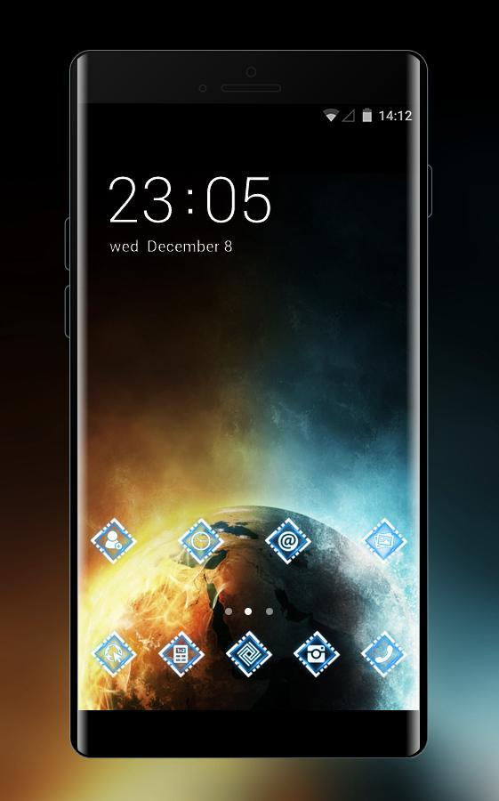 Galaxy Space Theme For Oppo F3 Plus Hd Wallpaper For Android