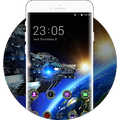 Cool Theme: Space Galaxy 3D Live Wallpaper OnePlus