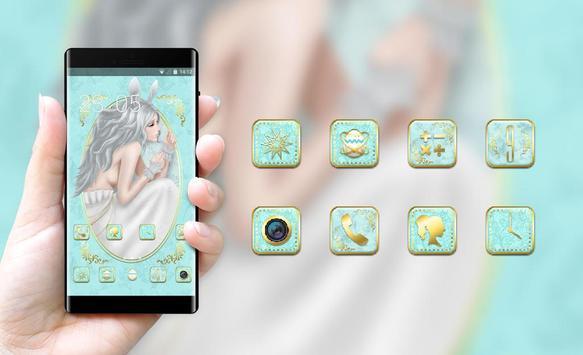 Girly theme handdrawing feminine wallpaper apk screenshot