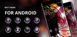 Theme for Jio Phone Launcher Glassy Wallpaper