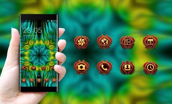 Theme for Asus Zenfone fractal patterns wallpaper screenshot 3