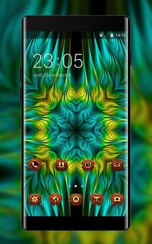 Theme for Asus Zenfone fractal patterns wallpaper poster