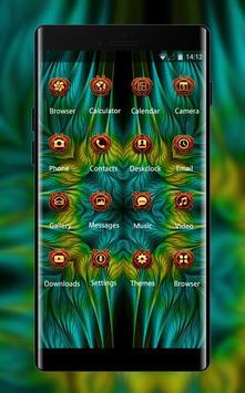 Theme for Asus Zenfone fractal patterns wallpaper screenshot 1