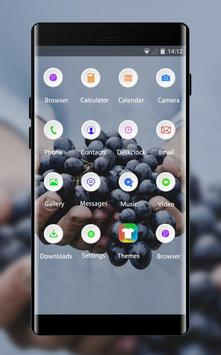 Emotion theme farmer food grapes fruit screenshot 1