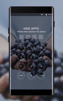 Emotion theme farmer food grapes fruit screenshot 2