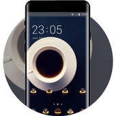 Emotion theme nq86 cup of coffee nature flower icon