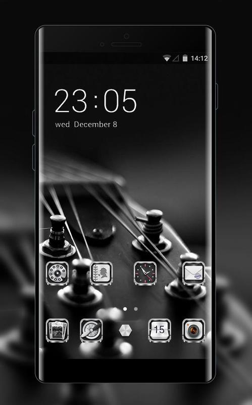 Music theme guitar string wallpaper for android apk download music theme guitar string wallpaper poster voltagebd Image collections