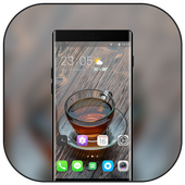 Theme for oppo r17 cup water table party icon