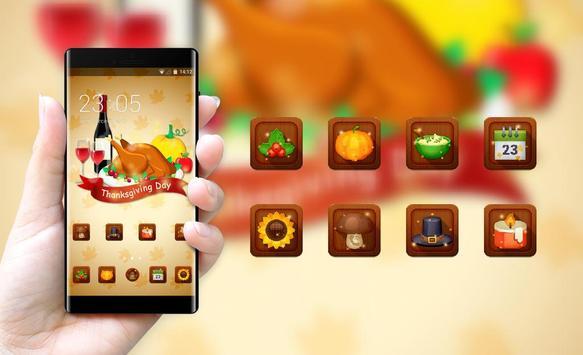 Thanksgiving day theme festival holiday wallpaper screenshot 3