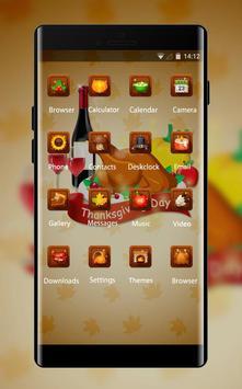 Thanksgiving day theme festival holiday wallpaper screenshot 1