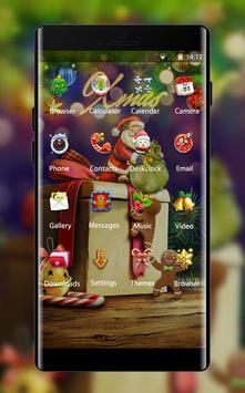 Holiday theme xmas gift cartoon wallpaper HD screenshot 1