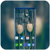Theme for Honor 8X natural flowers feel wallpaper icon