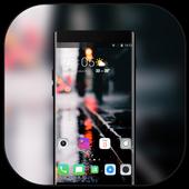 Theme for Pixel 3 vague road light icon