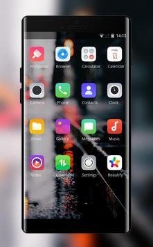 Theme for Pixel 3 vague road light screenshot 1