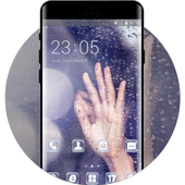 Theme for Vivo Y69 rain shy asian girl wallpaper for Android