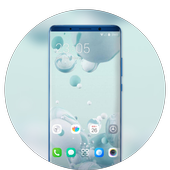 Theme for Mi Redmi simple Round ball wallpaper icon