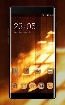 Wood Theme For Samsung On Nxt Wallpaper Poster