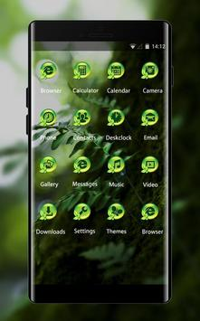 Emotion theme wallpaper wood leaves nature close apk screenshot