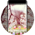 spring theme for Moto G5 blossom branch wallpaper