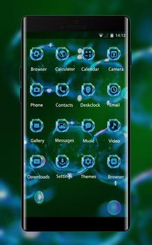 Emotion theme wallpaper bubbles light glitter apk screenshot