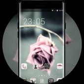 Emotion theme wallpaper flower shadow rose branch icon