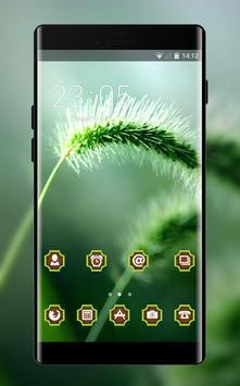 Emotion theme wallpaper plant grass motion blur poster