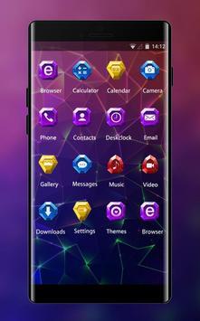 Fantasy/sci-fi theme colorful abstract wallpaper screenshot 1