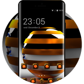 Fantasy/sci-fi theme wallpaper balls rendering icon